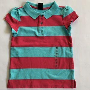 3/$20 NWT Gap Kids Polo Shirt Size XS 4/5